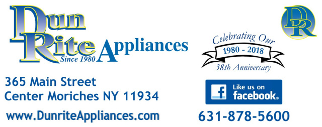 Welcome to Dunrite Appliances - 365 Main St Center Moriches, NY ...