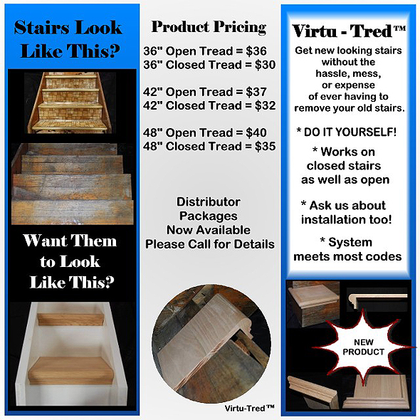 Home Contractors - Stairways, Stairs and Railings & Stair